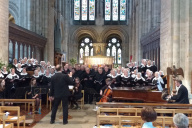 Koorreis Engeland-Concert Romsey Abbey - Romsey