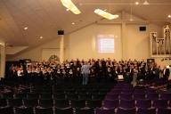 Voorjaarsconcert Zuidlaren - generale repetitie