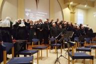Zomeravondzang - Opstellen koor - Driestwegkerk - Nunspeet